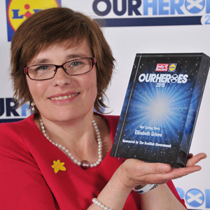 Marie Curie Nurse honored with Daily Record