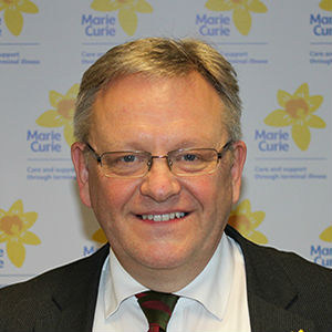 Professor Bill Noble, Medical Director at Marie Curie