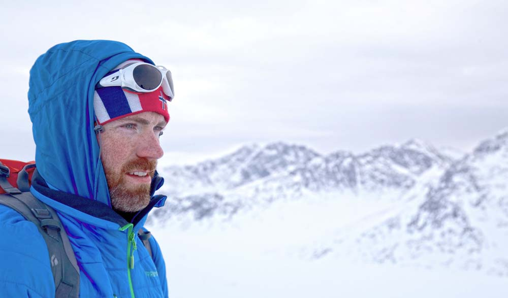 Luke takes on extreme Antarctic challenge