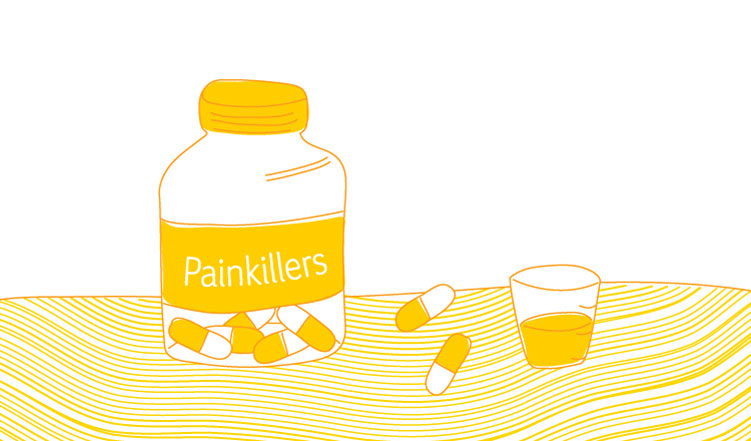 Pain killers and terminal illness