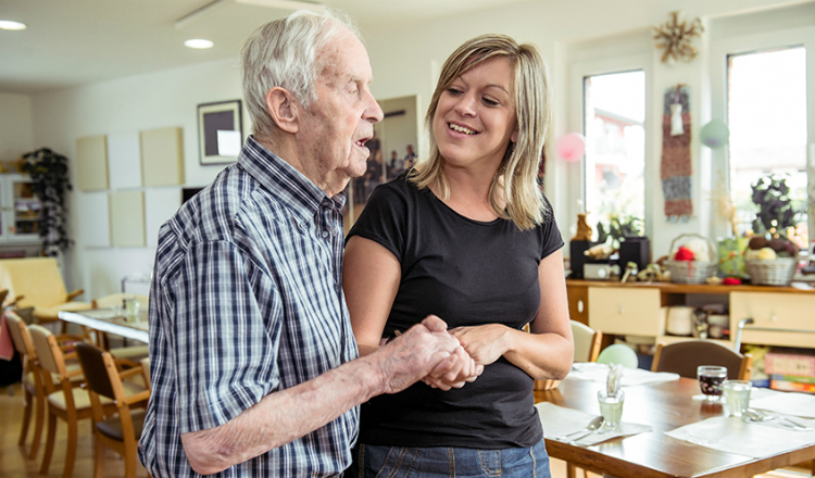 Dying with dementia: care homes need support