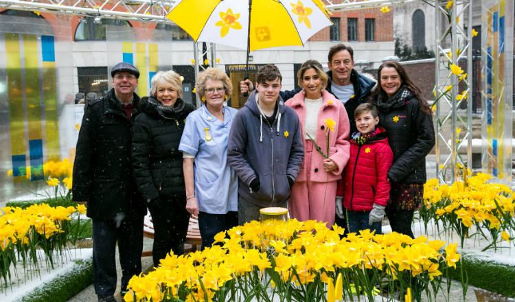 Marie curie celebrity supporters