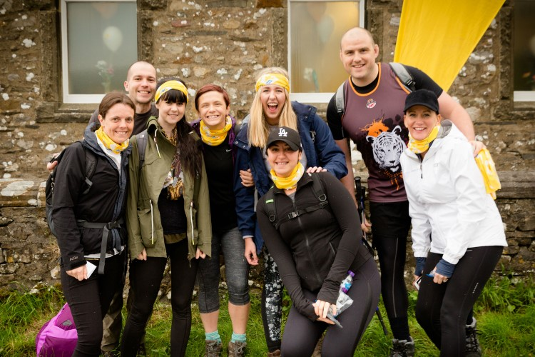 Marie CUrie Yorkshire Three Peaks Trek