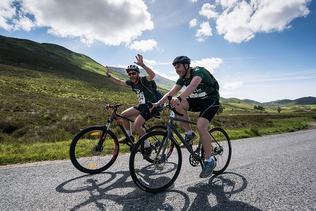 Rob Roy cyclists