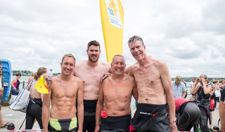 Padstow to Rock swim