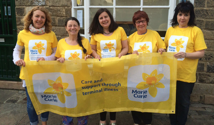 Marie Curie Fundraising Group Otley