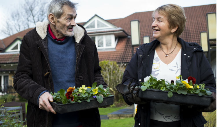 Gardening to keep active