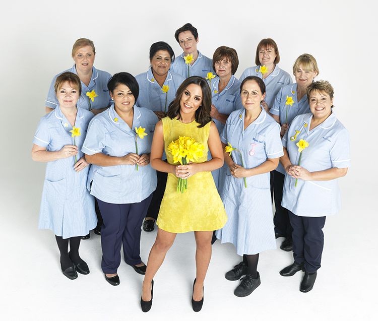 Superdrug promotion, P&G, Frankie Bridge, Marie Curie