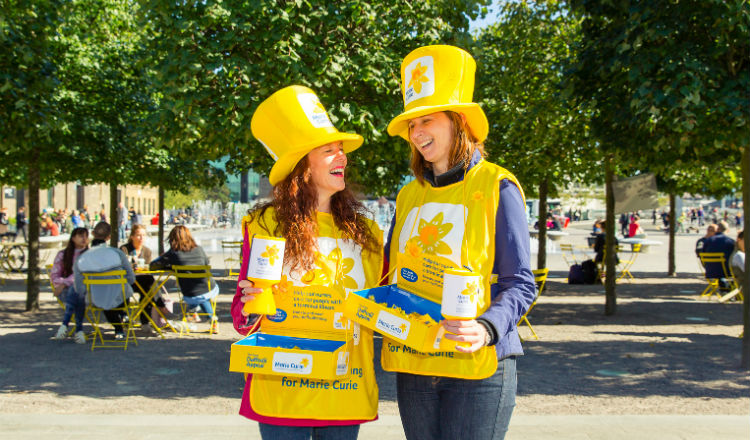 Two Marie Curie collectors
