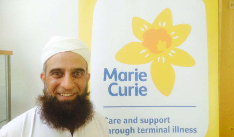 Rifaqat Ali Pay for a Day Marie Curie Hospice, Bradford